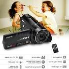 "Full HD 3.0"" TFT-LCD 1080P 24MP 16X ZOOM Digital Video DV Ca"