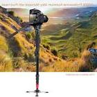 "Professional 63"" Tripod Monopod Stand Fluid Pan Head for DSL"