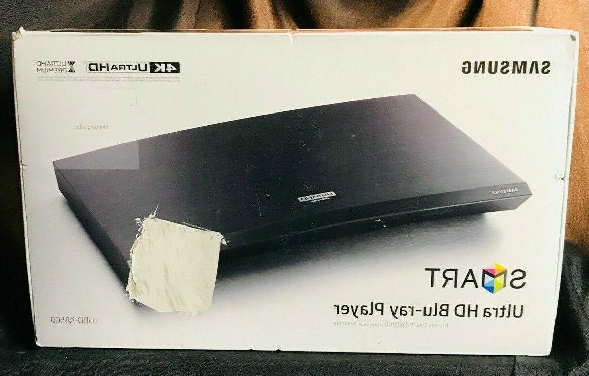 Samsung UBD-K8500 4K Blu-ray Player With Built-in WiFi