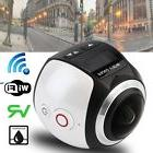 360° 4K UHD 16MP Panoramic WIFI Waterproof Sports Action Ca