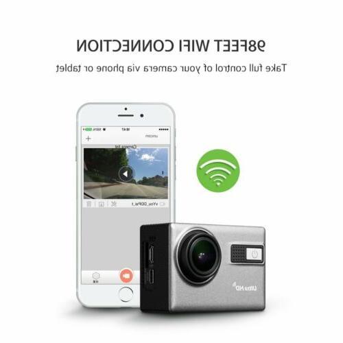 Ultra 4K Full 1080P Outdoor Camera Action Camcorder DVR