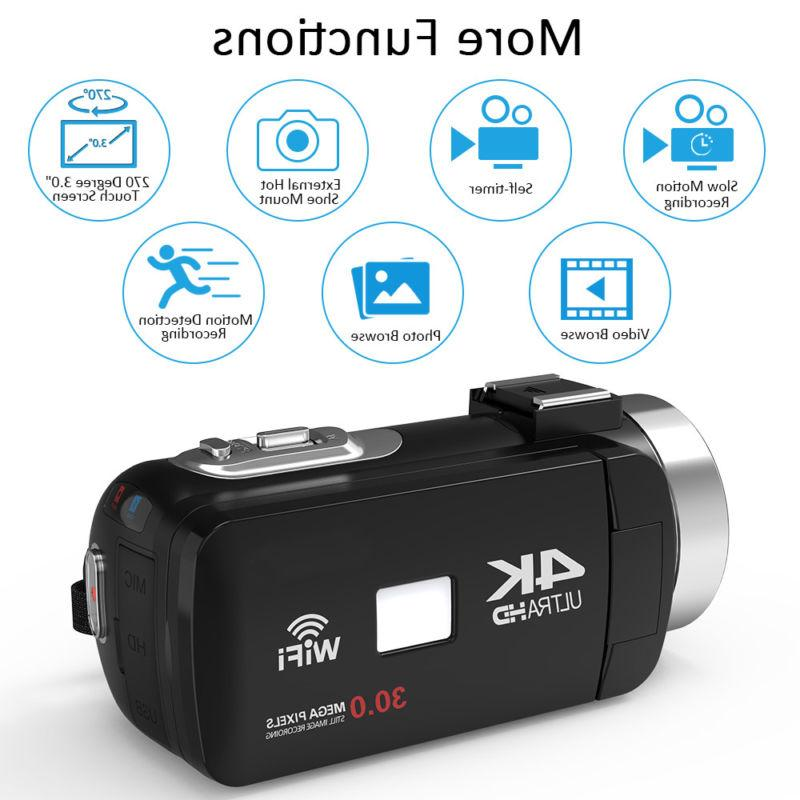 1080P 48MP Digital Camera Camcorder