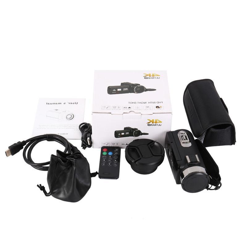 WiFi 4K ULTRA 1080P Camera Recorder