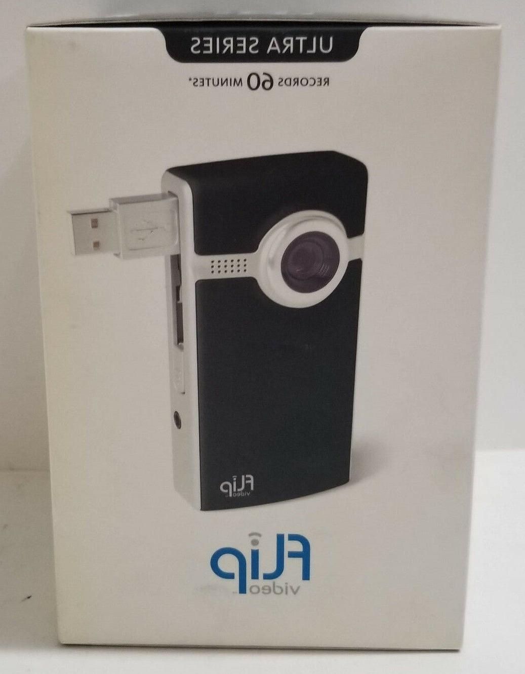 Flip Video Ultra Series Camcorder Black 2Gb F260B