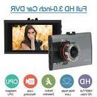 """Ultra Slim 3"""" Car DVR Dash Cam Camera Camcorder with Night V"""