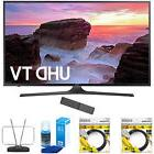 """Samsung 55"""" 4K Ultra HD Smart LED TV 2017 Model with Cleanin"""