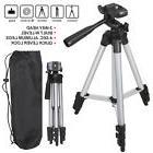 Universal Aluminum Portable Tripod Stand Camera Camcorder w/