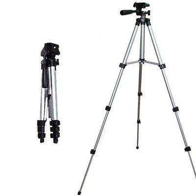 universal portable aluminum tripod stand and bag