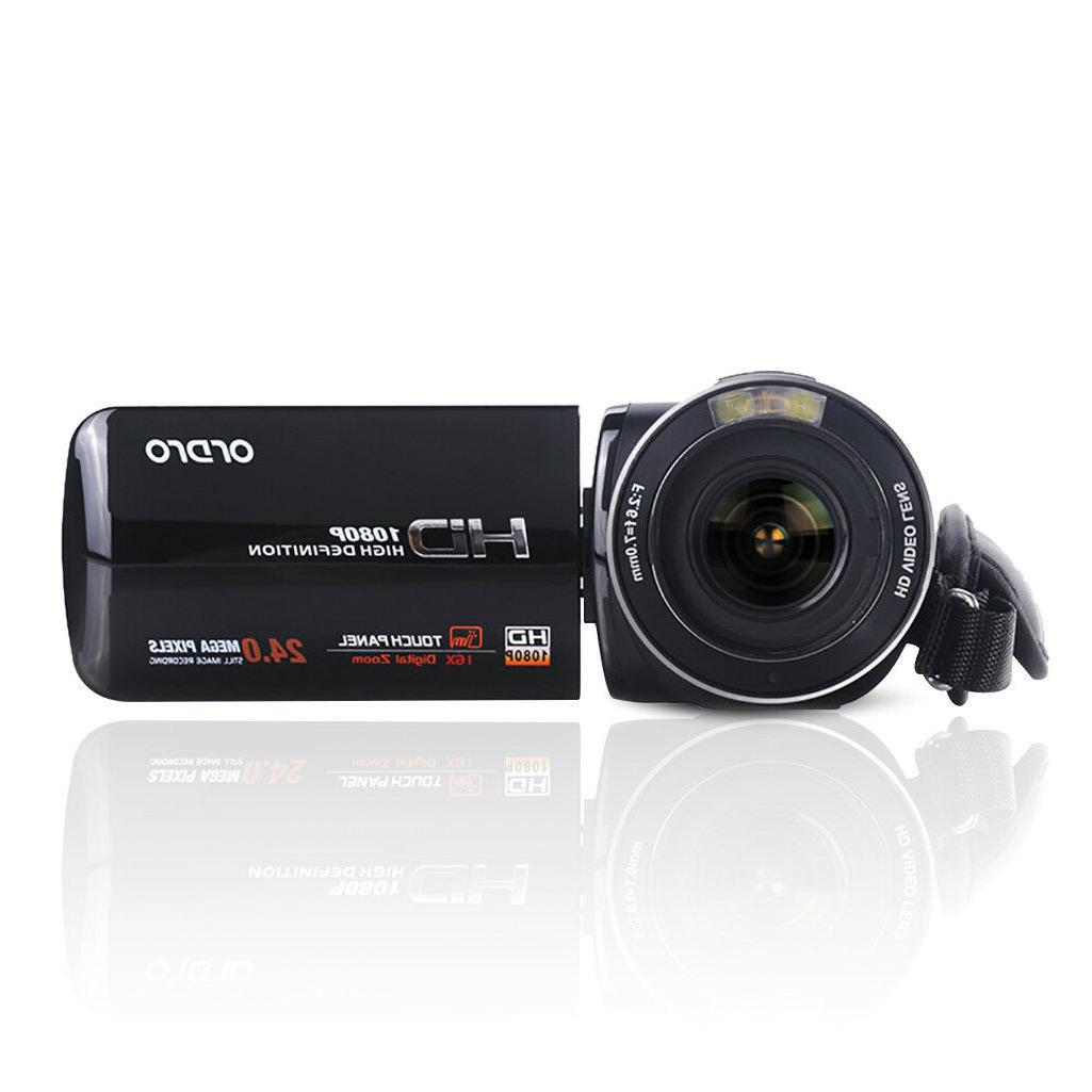 "FULL HD 3"" LCD ZOOM Digital Camcorder"