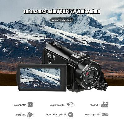 #US HD 24MP Portable Camera Shoe Mount