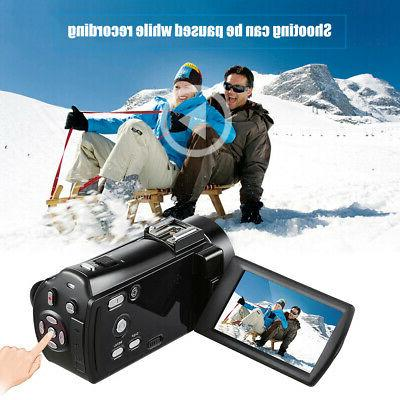 #US Full HD 24MP Digital Camera Shoe