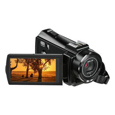 #US Full HD 24MP Portable Digital Camera & Shoe