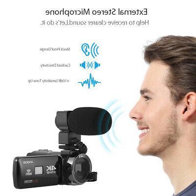 """US Andoer 3.0""""LCD Digital Video 16X Zoom"""
