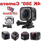 US!HD 4K 1440P Action Sport Camera Panoramic 360 Degree DVR