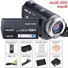 US Video Camcorder, Besteker HD 1080p IR Night Vision Max. 2