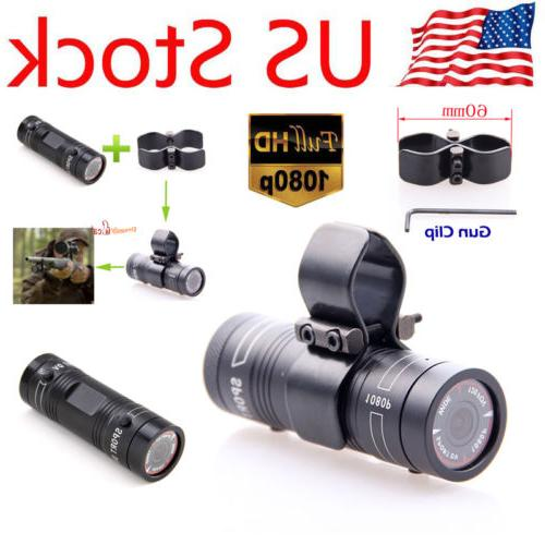 US STOCK Gun Video Hunting Camera X38 HD 1080P for Clay Pige