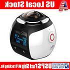 USA 4K 360 DV Action Camera Waterproof 360 Degree Panoramic