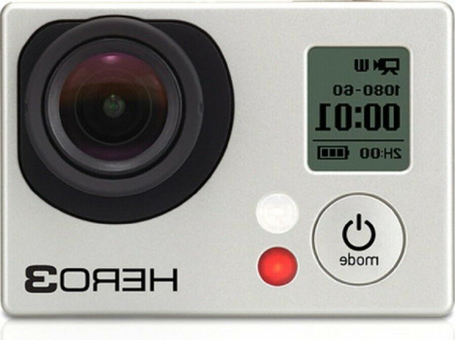 Used 3 Black 4K 12MP HD Camera Camcorder WiFi