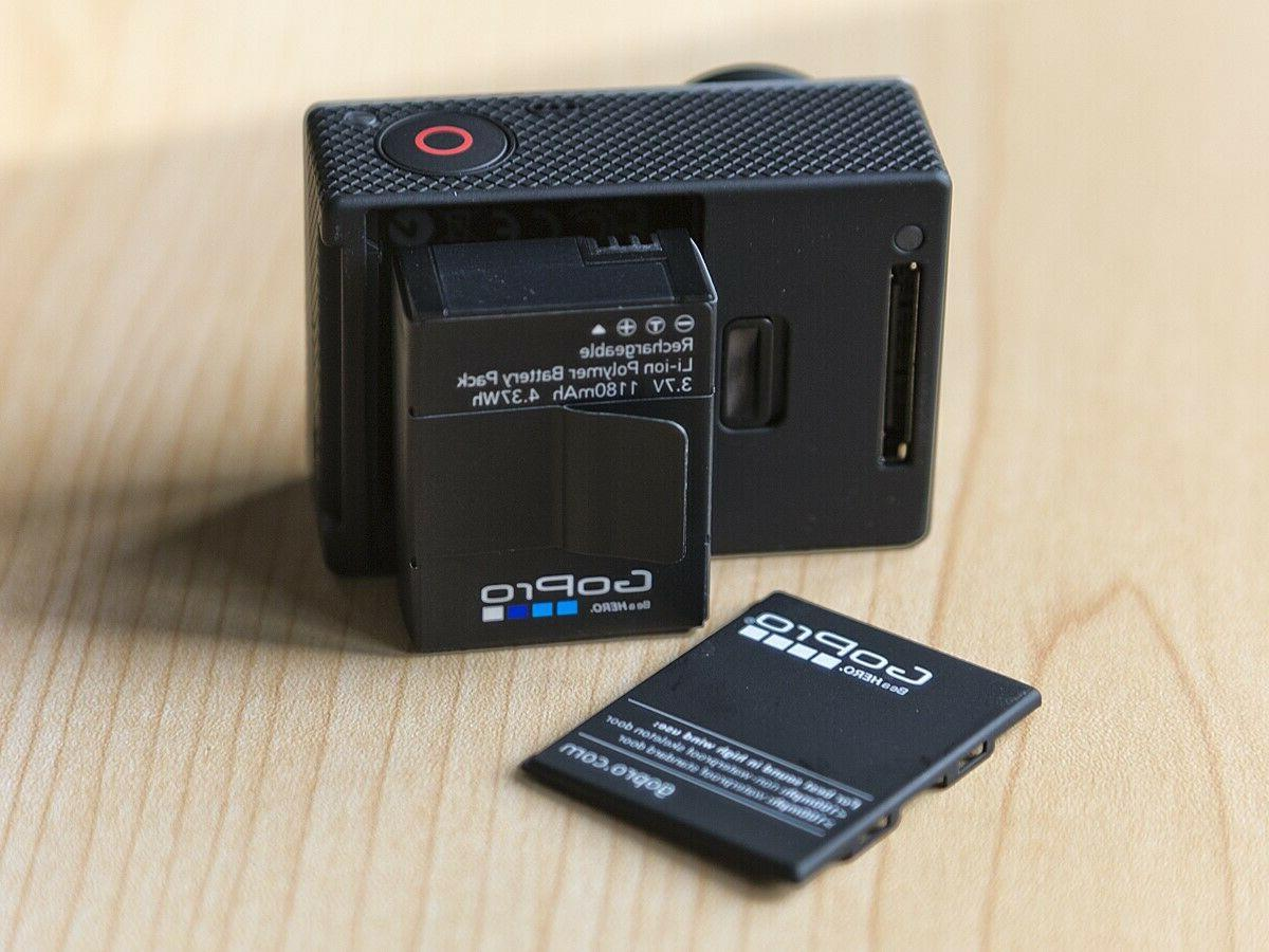 Used GoPro Black 4K 12MP HD Action Camcorder WiFi USA