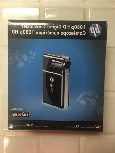 v5040u 1080p hd digital camcorder black new
