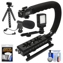 Vidpro VB-12 Stabilizer Hand Grip for DSLR Cameras, Video Ca