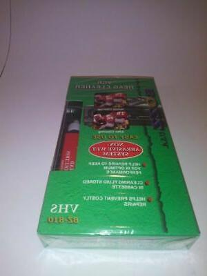 vcr head cleaner vhs or camcorder cleaner
