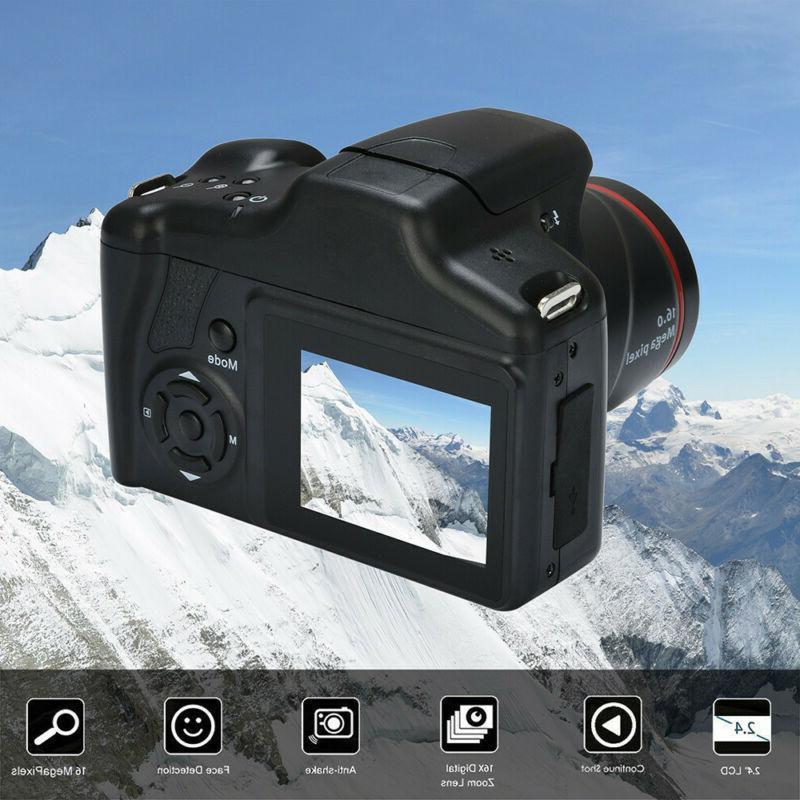 Video Camcorder HD 720P Handheld Digital 16X Digital Camera