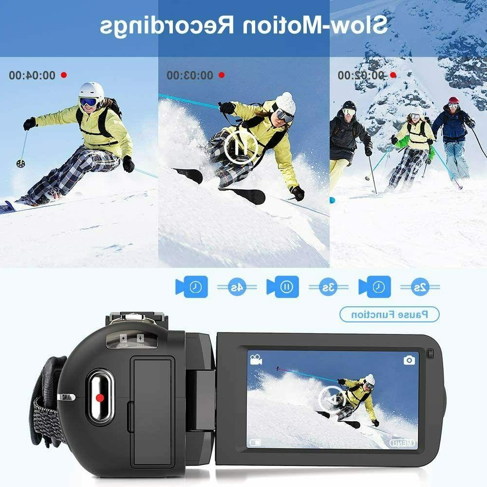 Video Camera 2.7K Ultra HD Camera for Night