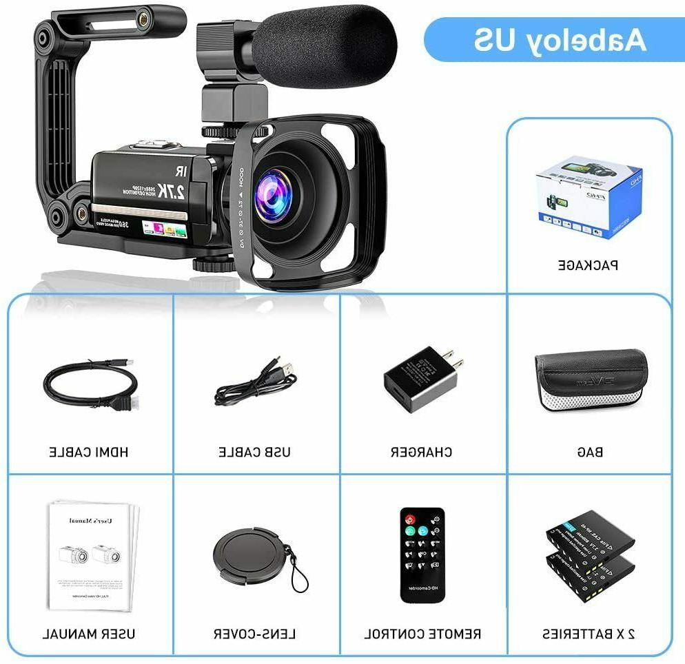 Video Camera Ultra Vlogging Camera IR Night