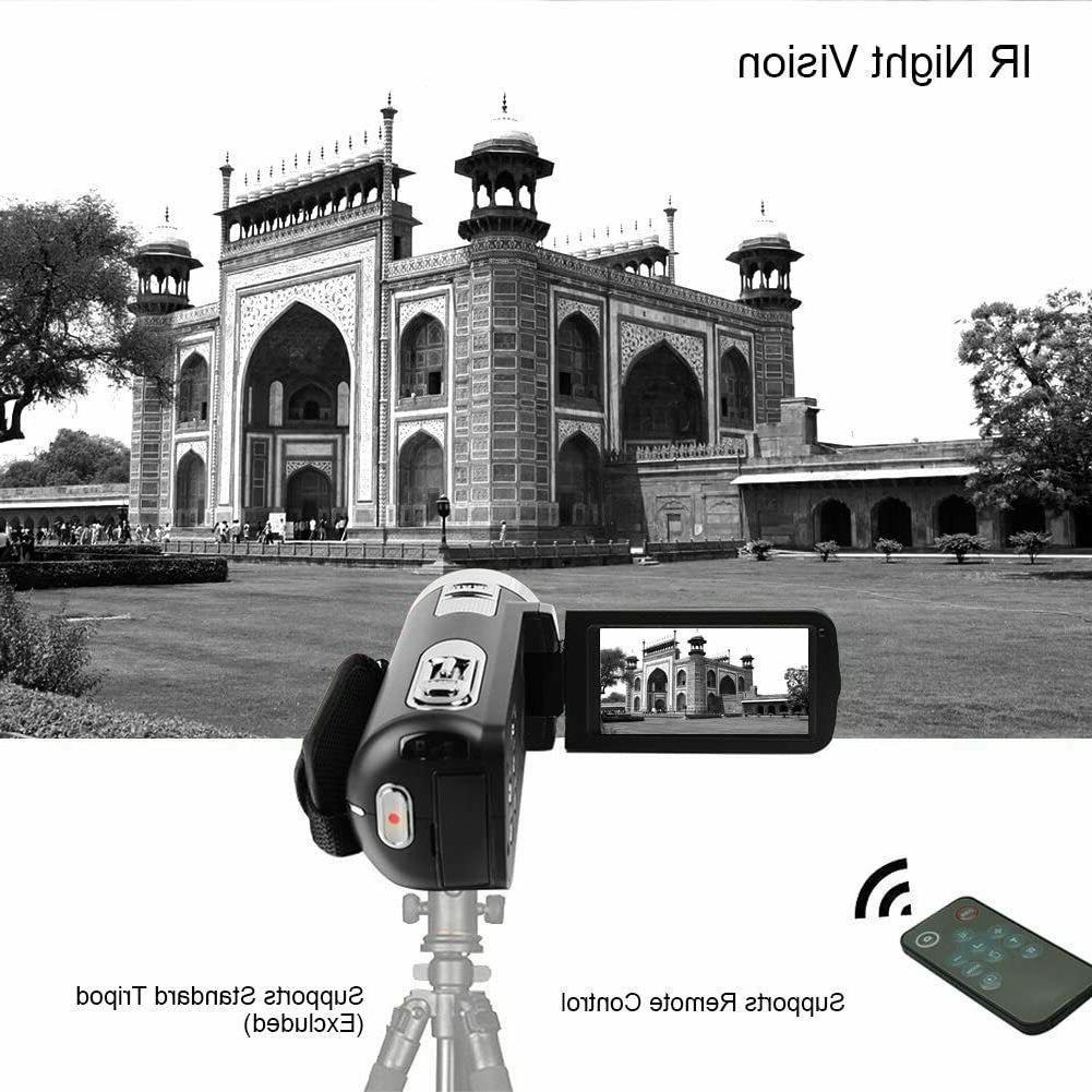 Video Camera 24.0MP Screen 18X Digital Zoom Vision