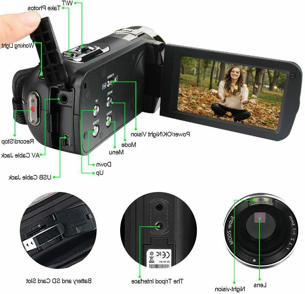 Video 24.0MP 18X Zoom Vision