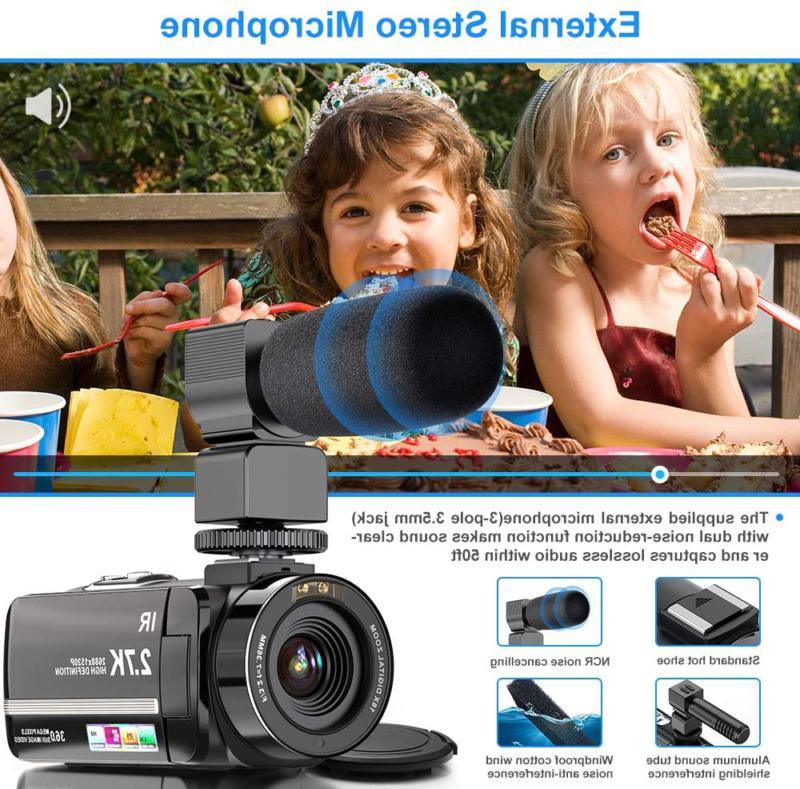 Video Camera Ultra Hd Camera 36Mp Visio