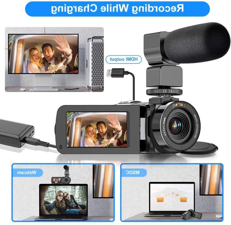 Video Camera Ultra Hd Vlogging Camera 36Mp Ir Visio
