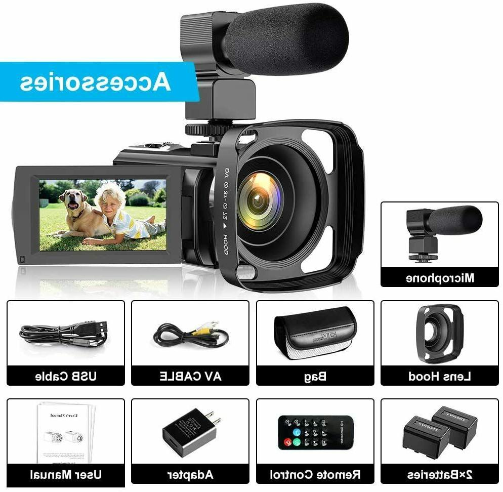 Video for YouTube, FHD 30FPS 24MP