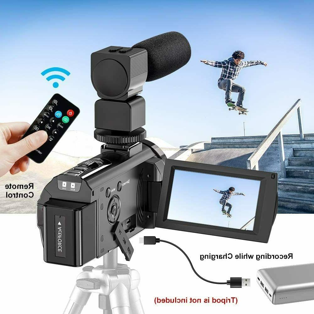 Video Camera Camcorder YouTube, 24MP