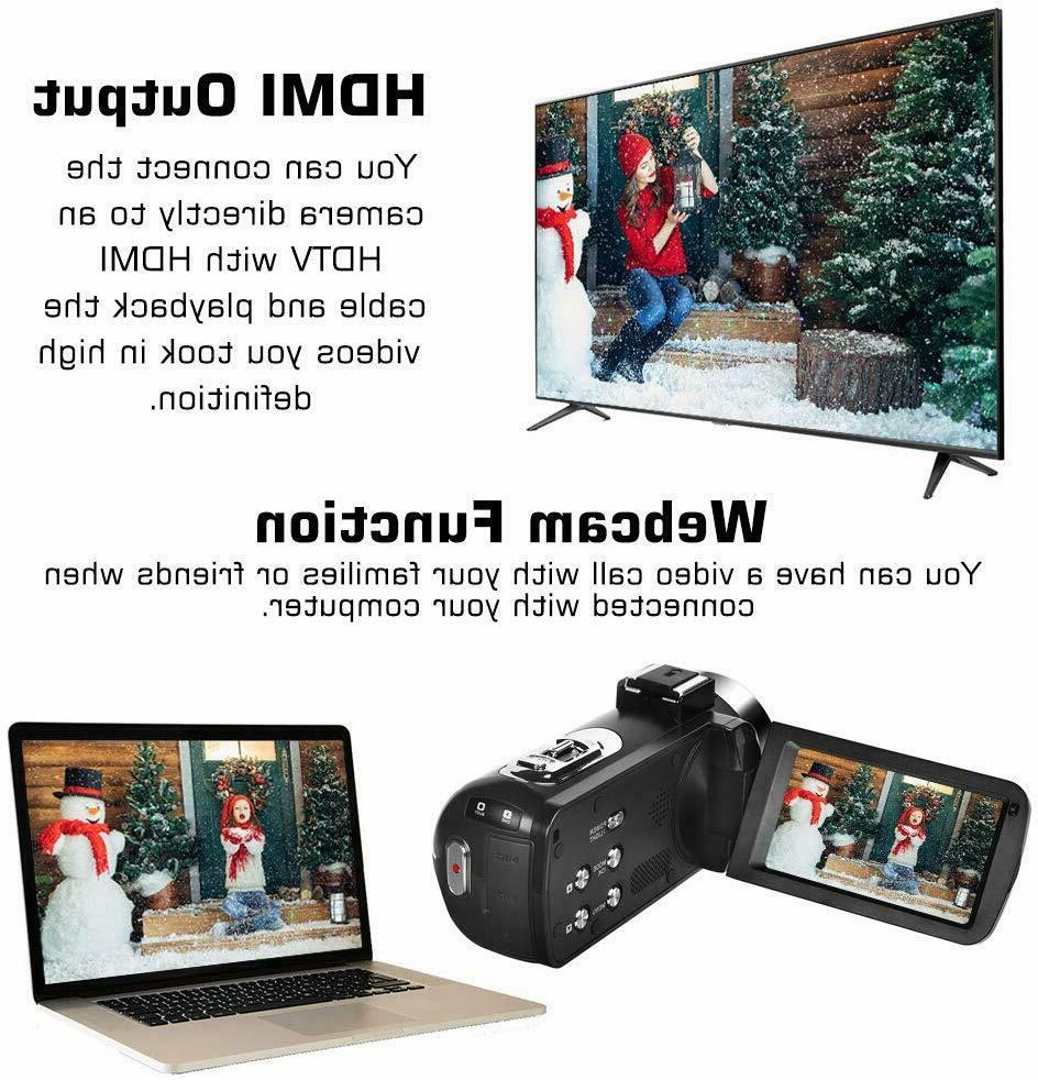 Video Camera Camera 30FPS Touch Screen