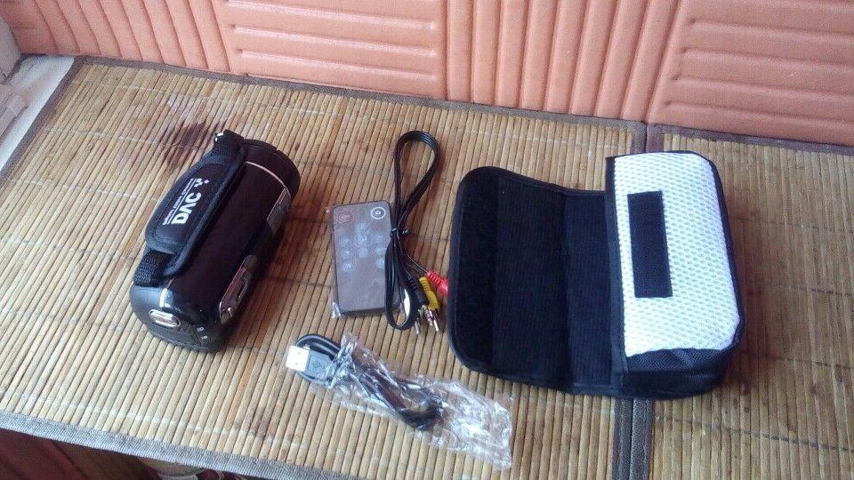 Video Camera Full Digital Camcorder Wifi Besteker E Wit
