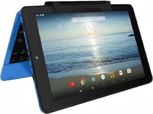 RCA Viking Pro 32gb Quad Core 10 1'' Hdmi Bluetooth Wifi Detachable  Keyboard Android 5 0 Lollipop-BLUE