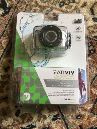 Vivitar DVR781HD-SIL 5.1 MP HD Action Camcorder