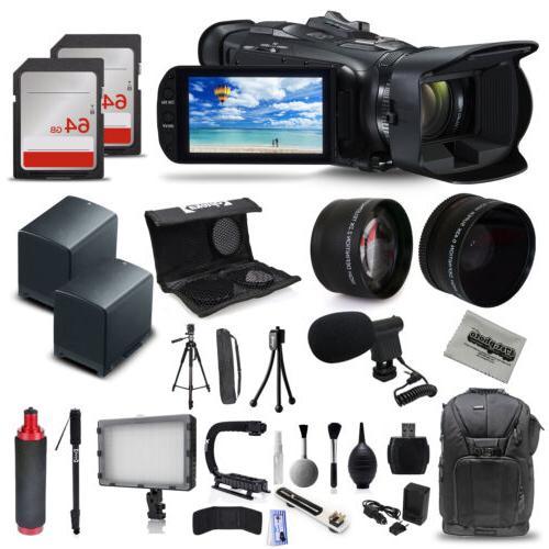 Canon VIXIA HF G40 Full HD Camcorder + Mic + 2x Batteries +