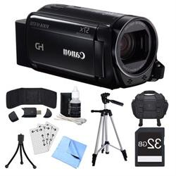 Canon VIXIA HF R700 Black Camcorder, 32GB Card, and Accessor