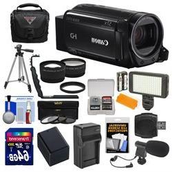 Canon Vixia HF R72 32GB Wi-Fi 1080p HD Video Camcorder + 64G