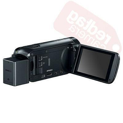 Canon VIXIA Full HD Camcorder HFR800 Black 57x Advance 16GB Bundle