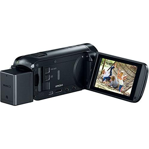 Canon Vixia R800 1080p Camera Camcorder + Battery Charger + + Light Microphone Kit