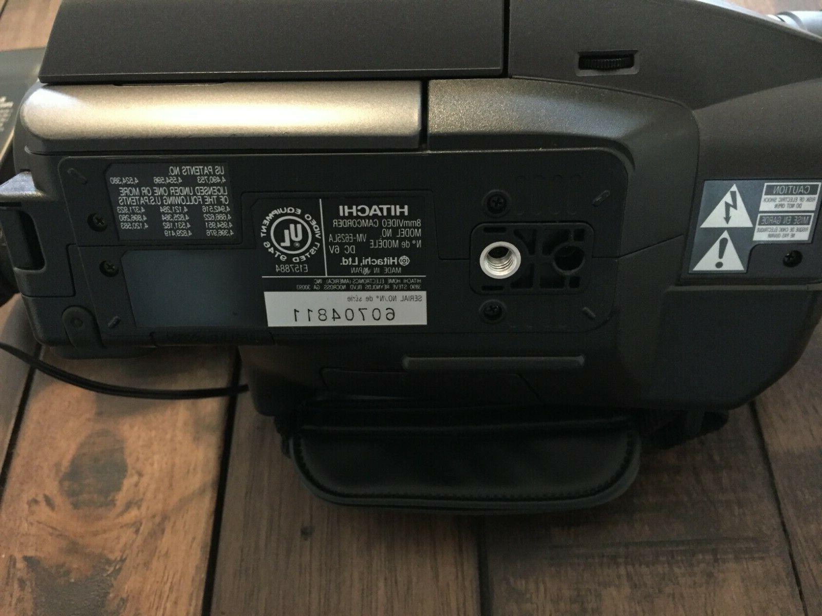 Hitachi VM-E625LA Video Camcorder TESTED