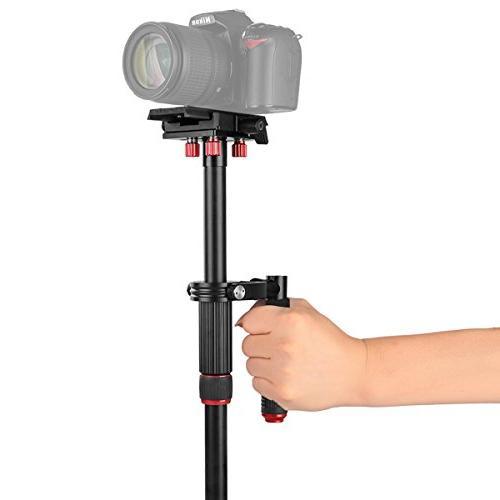"""Kamisafe VS1032 43""""/110cm Camera Video Stabilizer Steadicam 3/8"""" to Compatible DSLR Gopro Cellphone"""