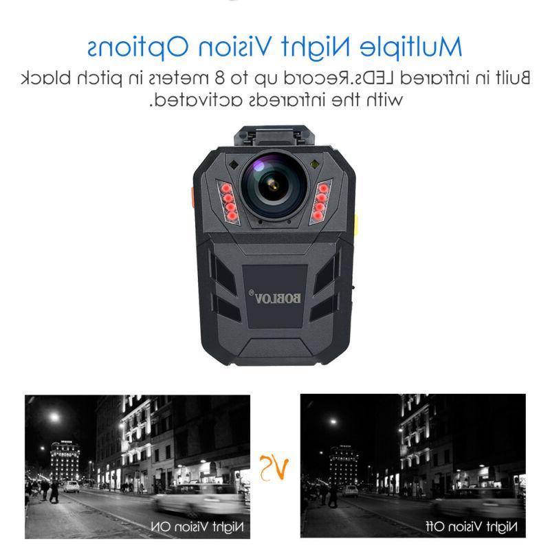 BOBLOV body 1296P Video Recorder Night Vision