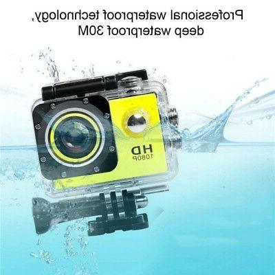 400mAH Sports Camera Record Waterproof Camcorder