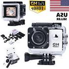 12MP 1080P Full HD Waterproof Sports Action Camcorder Record