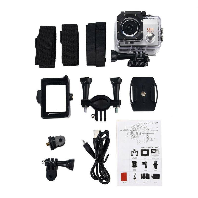 Waterproof Camera Sport Action Camera Cam Gopro